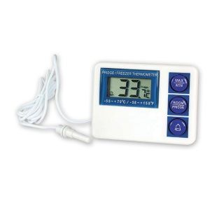 THERMOMETER DIGITAL FRIDGE&FREEZ W/PROOF