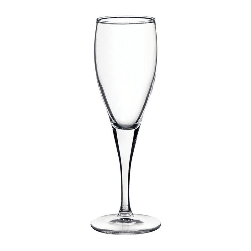 GLASS STEM FLUTE 175ML FIORE