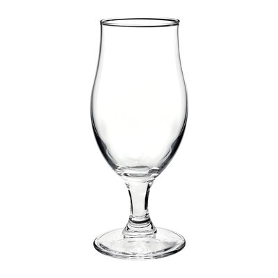 GLASS BEER WITH STEM, EXECUTIVE