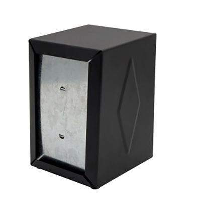 NAPKIN DISPENSER BLK LGE