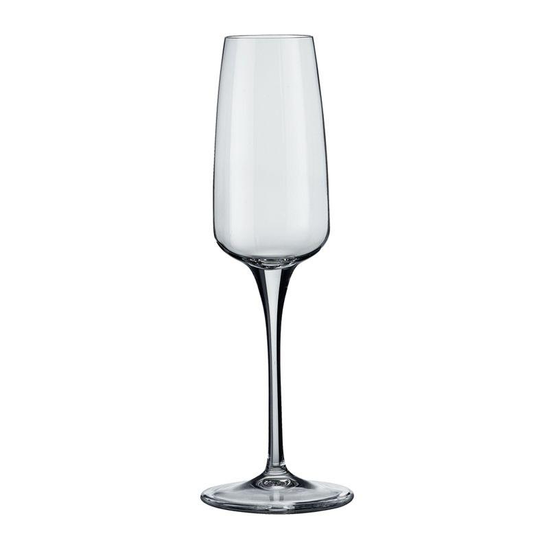 GLASS STEM FLUTE 230ML AURUM