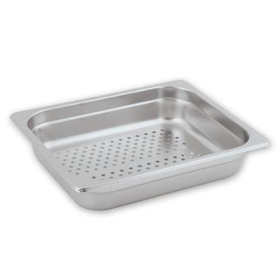 STEAM PAN PERF S/STEEL 1/2