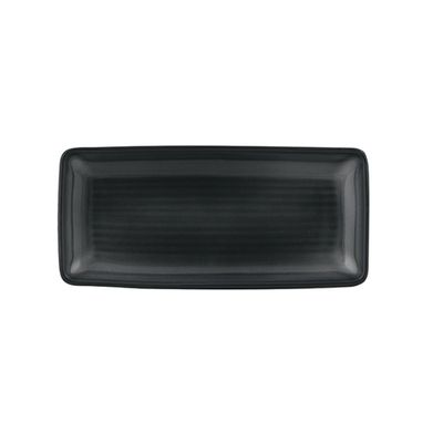 PLATTER RECTANGLE BLACK, ZUMA