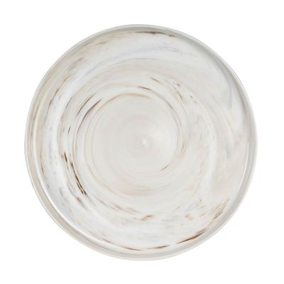 PLATE ROUND MARBLE, LUZERNE SIGNATURE