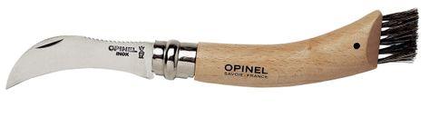 KNIFE MUSHROOM W/BRUSH BEECH, OPINEL