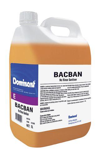 BACBAN AIR DRY SANITISER 5L