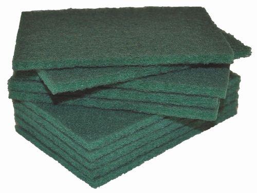 GREEN THINLINE SCOURER 15X10CM / 10PKT