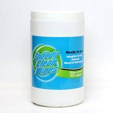 WIPES SPEEDY CLEAN 100/TUB CTN/4