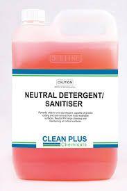 NEUTRAL DETERGENT SANITISER 5L