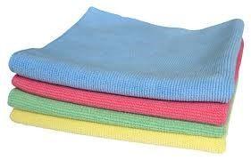 MICROFIBRE CLOTH YELLOW 40X40CM 3/PKT