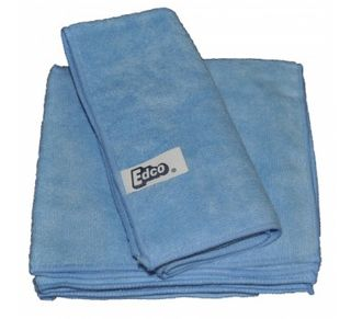 MICROFIBRE CLOTH BLUE 40X40CM 3/PKT