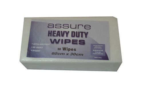 ASSURE CUT WIPES WHITE -200CTN