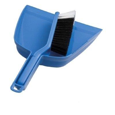 DUST PAN SET BLUE