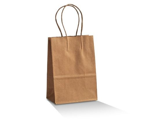 BABY-BROWN KRAFT BAG 200X140X80 500/CTN
