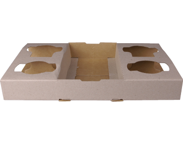 FOUR CUP HOLDER TRAY 100/CTN