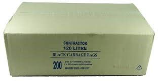 GARBAGE BAG CONTRACTOR 120L 200/CTN