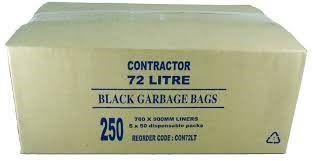 GARBAGE BAG CONTRACTOR 72L 250/CTN