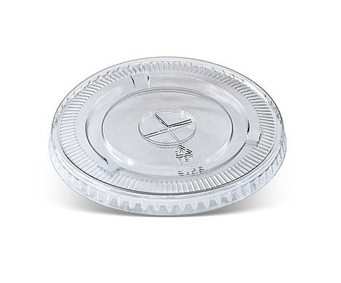 PLASTIC PET LID WITH X SLOT 1000/CTN