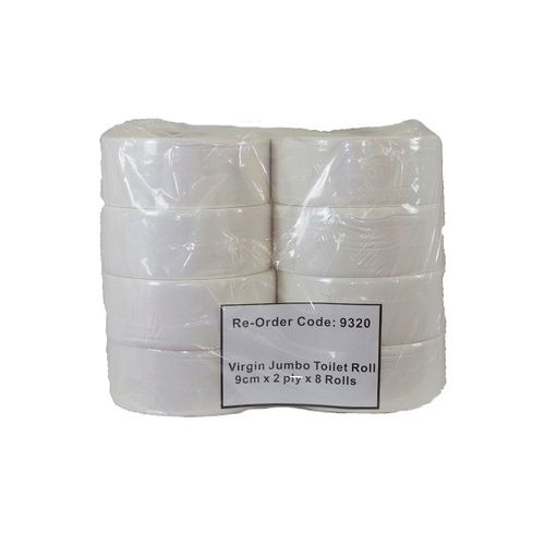 JUMBO TOILET PAPER 2PLY 300M  8/CTN