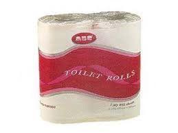 TOILET PAPER 1PLY 850SHT 48/CTN