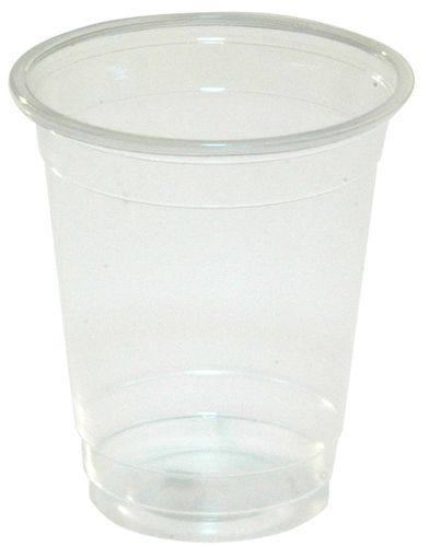 CLEAR PLASTIC BEER CUP 425ML 1000/CTN