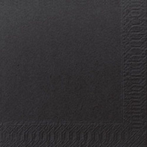 2PLY COCKTAIL NAPKIN BLACK 2400CTN