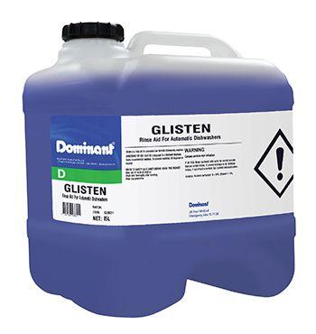 GLISTEN RINSE AID DRUM 15L
