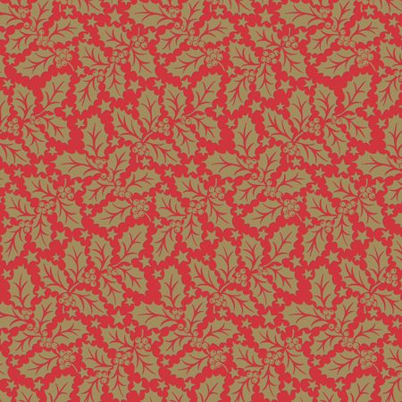 SLIPCOVER HOLLY RED 80X80CM 50CTN