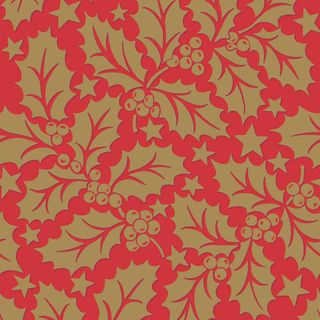 HOLLY RED AIRLAID NAPKIN 40CM 50PKT