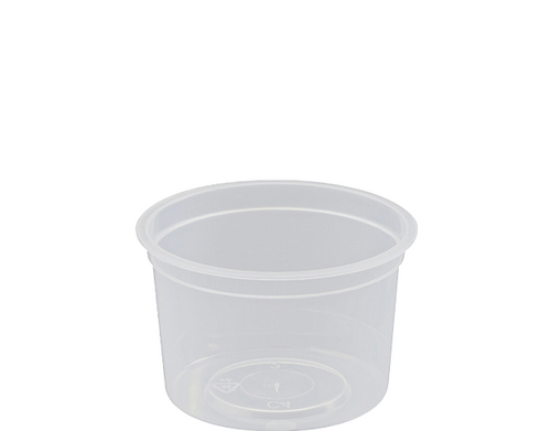 TAKEAWAY CONTAINER ROUND C4 120ML 1000CT