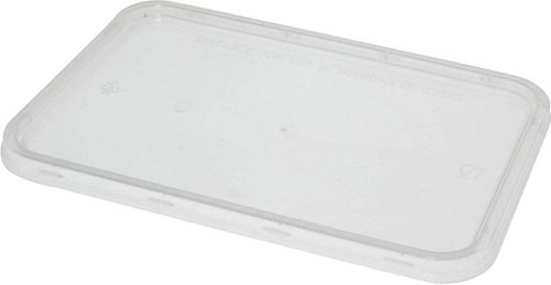 LID TAKEAWAY CONTAINER RECTANGLE 500CTN