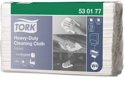 TORK HDC CLEANING CLOTH FOLDED 60X5 W4