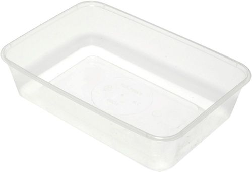 TAKEAWAY CONTAINER RECTANGLE 1000ML-500C