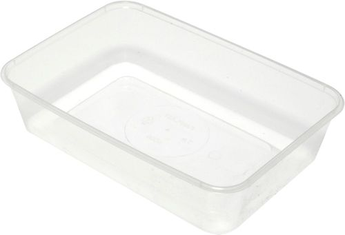 TAKEAWAY CONTAINER RECTANGLE 600ML-500CT