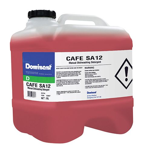 CAFE SA12 CHEMICAL MANUAL W/UP15L DRUM