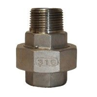 STAINLESS STEEL 316 M/F UNION