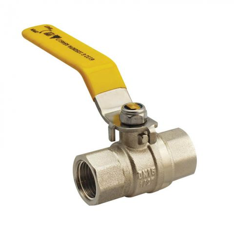 F/F GAS APPROVED BALL VALVE LEVER HANDLE