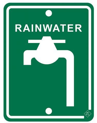 SIGN RAINWATER