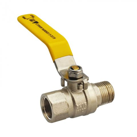 M/F GAS APPROVED BALL VALVE LEVER HANDLE