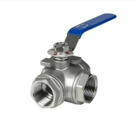 L PORT 3 WAY 316 BALL VALVE