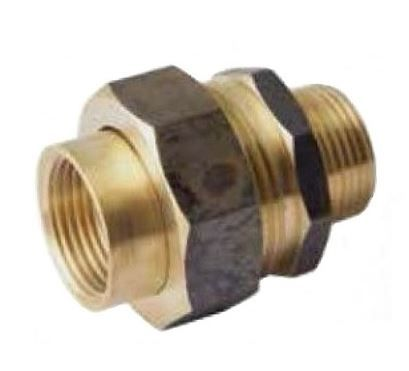 MALE TO FEMALE BRASS BARREL UNION