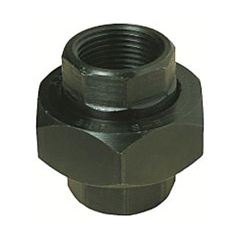 BLACK STEEL UNION F/F STEEL/BRONZE SEAT