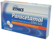 PARACETAMOL ETHICS CLASSIC BOX/20