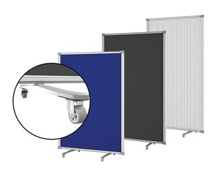 DIVIDER SCREEN BOYD VISUALS BLUE FABRIC