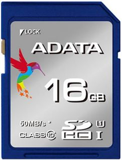 SD MEMORY CARD ADATA PREMIER UHS-I SDHC