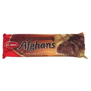 BISCUITS GRIFFINS CHOCOLATE AFGHANS 200G