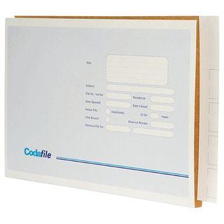 CODAFILE X LARGE FILE 156210 45MM BX100