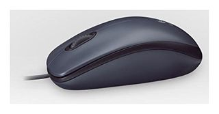 LOGITECH MOUSE WIRED M90 USB FULL SIZE