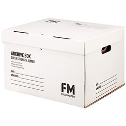 ARCHIVE BOX FM SUPER STRENGTH WHITE