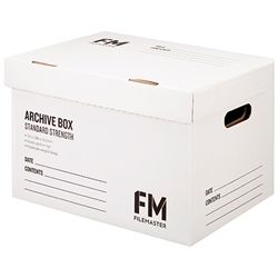 FM ARCHIVE BOX WHITE STANDARD